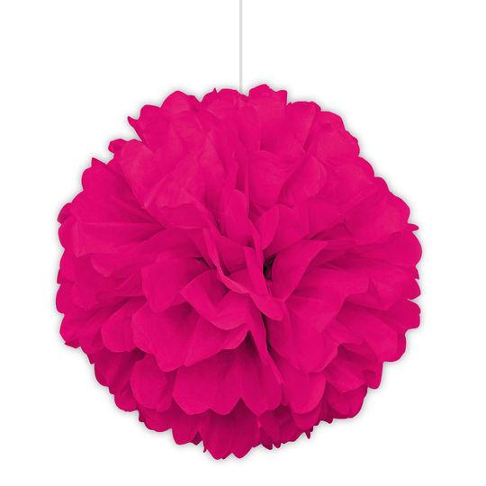 Pompom Grande Rosa Neon