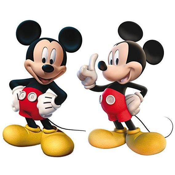 Conj. 2 Figuras Mickey
