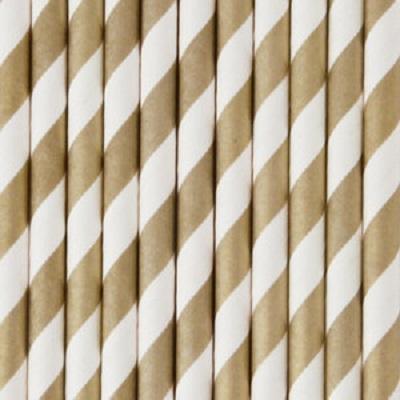 Palhinhas Douradas Riscas -  Conj. 25
