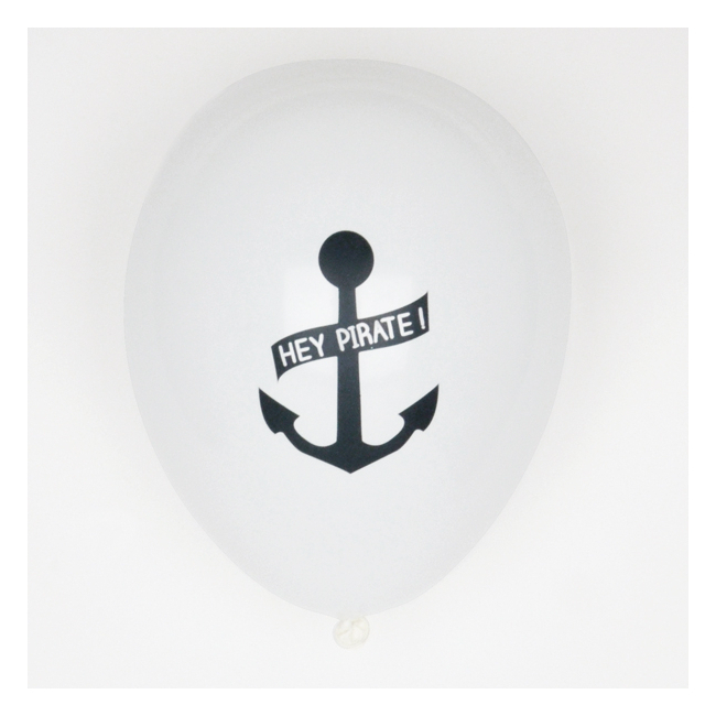 Conj. 5 Balões Pirata
