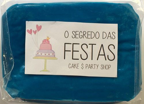 17 - Pasta de Açúcar Azul