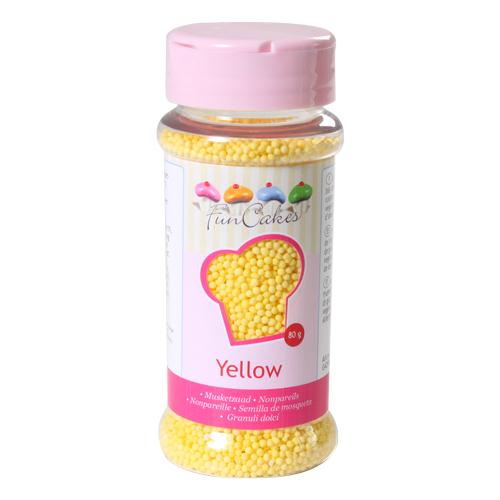 Mini Pérolas Amarelas