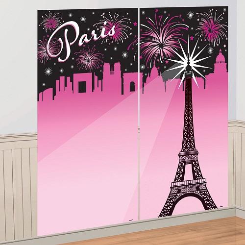 Cenário Festa Paris