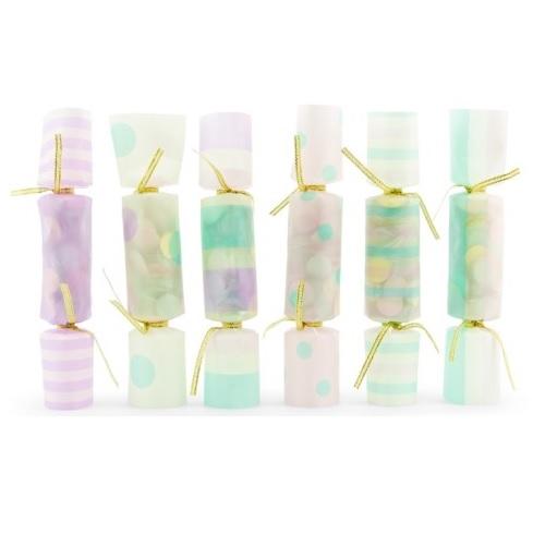 Conj. 6 Crackers Confetis