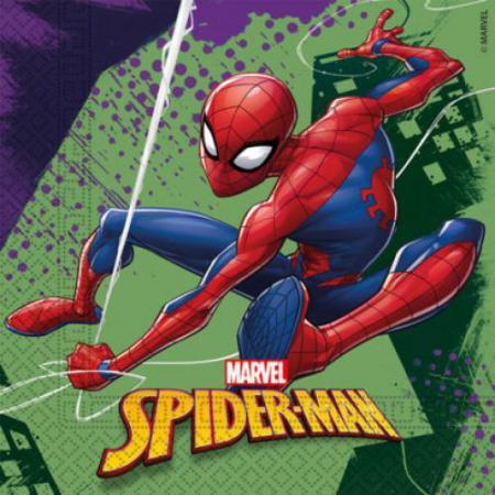 Guardanapos Homem-Aranha