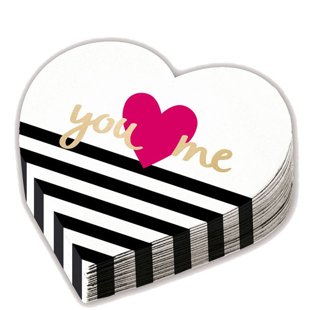 Guardanapos Coração You + Me