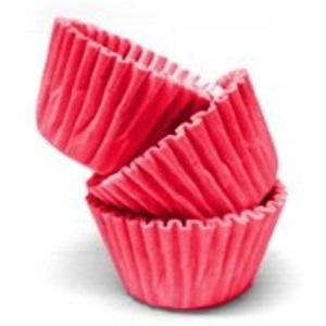 Conj. 100 Mini Forminhas Vermelho