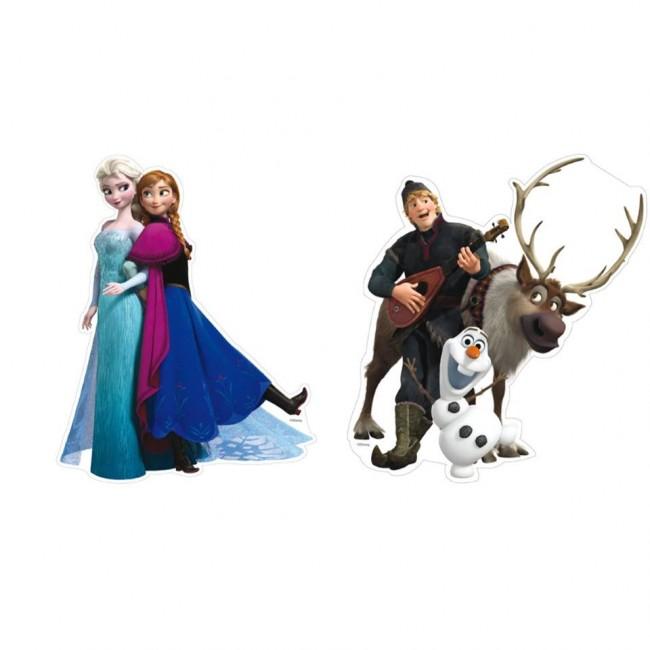 Conj. 2 Figuras Frozen
