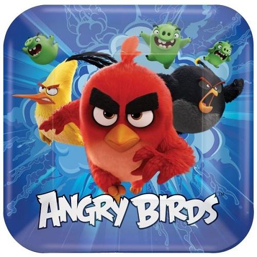 Pratos Angry Birds