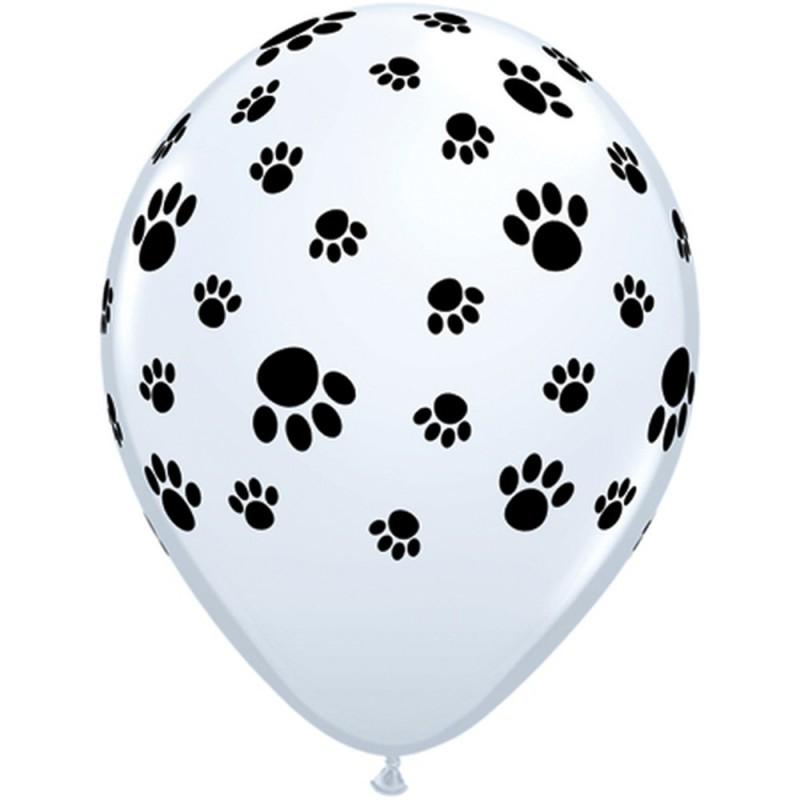 Conj. 5 Balões Pata