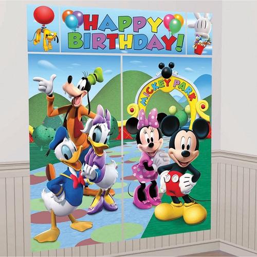 Cenário Mickey e Minnie