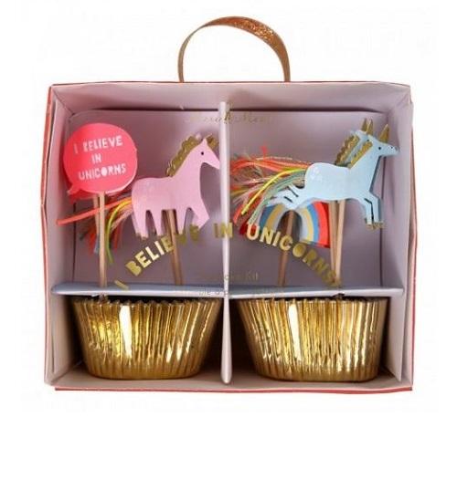 Kit Cupcakes Unicórnios