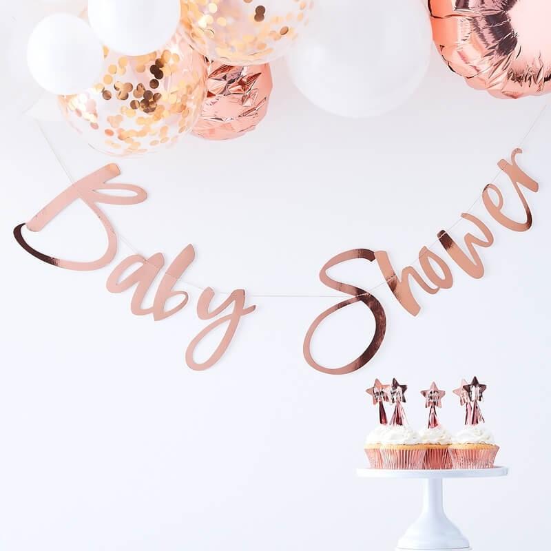 Grinalda Baby Shower Rose Gold