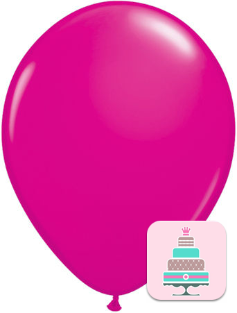 Balão Rosa Forte