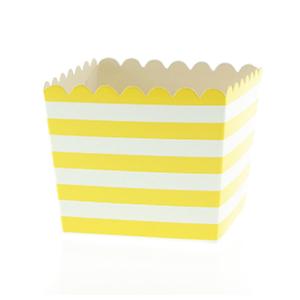 Caixinha Amarelo Riscas