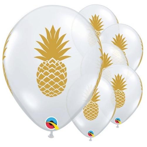 Conj. 5 Balões Ananás