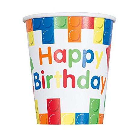 Copo Lego Happy Birthday