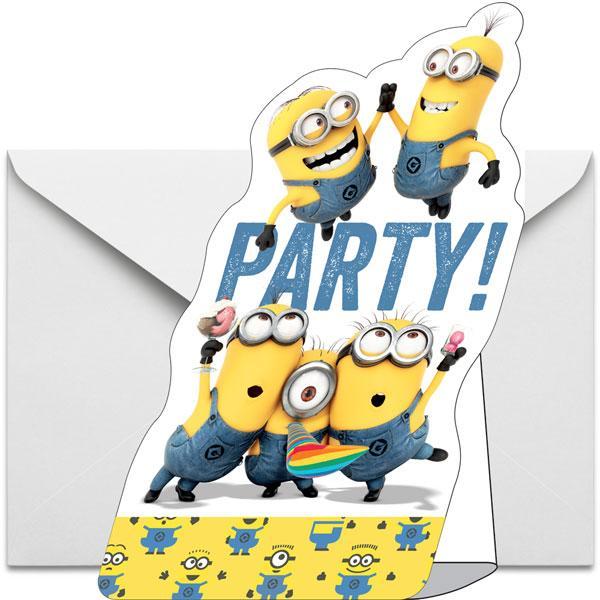 Convites Minions