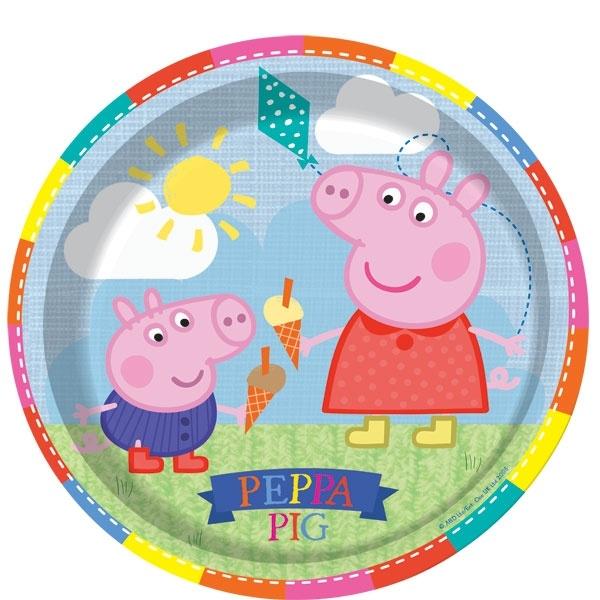 Pratos Porquinha Peppa
