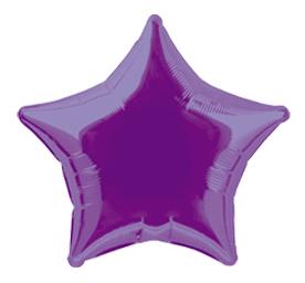 Balão Estrela Roxo