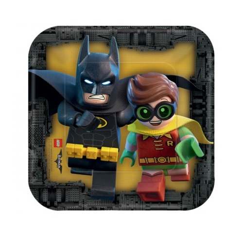 Pratos Lego Batman