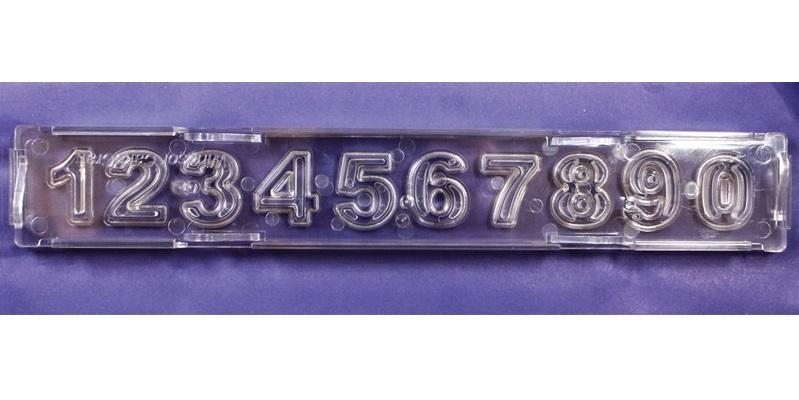 Cortador Clikstix Block Números