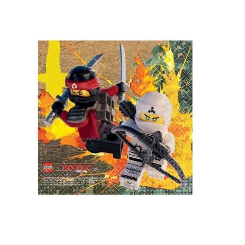 Guardanapos Lego Ninjago Pequenos