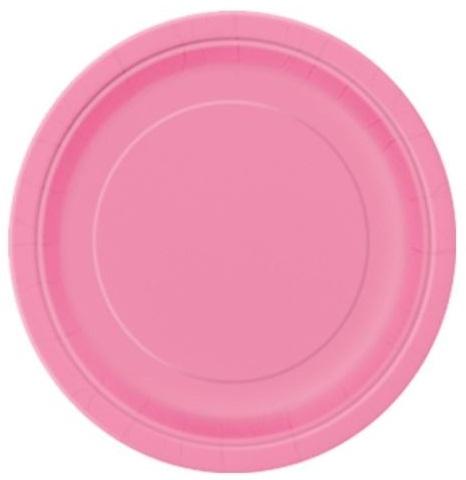 Pratos Rosa Pequenos
