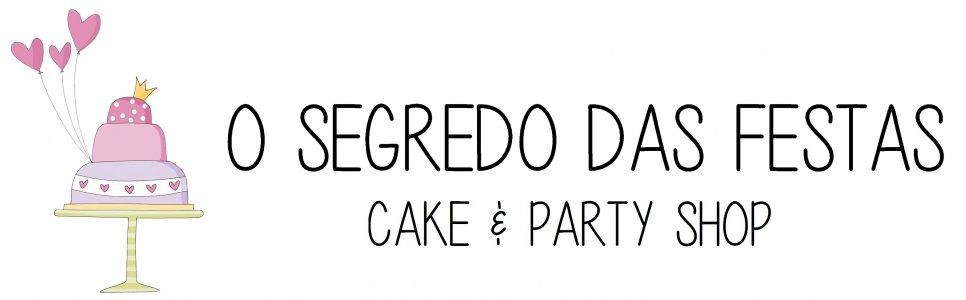 O Segredo das Festas - LOJA DE ARTIGOS PARA BOLOS E FESTAS