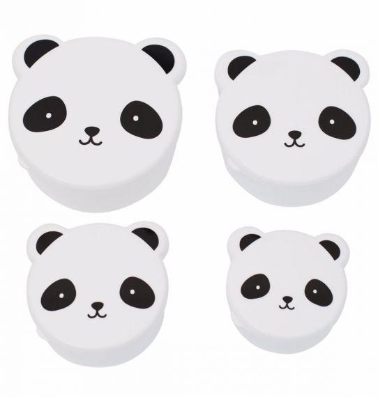 Conj. 4 Caixas Panda
