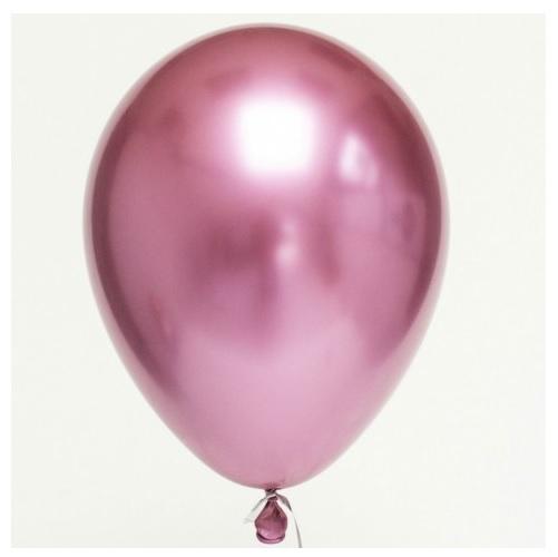 Balão Cromado Rosa
