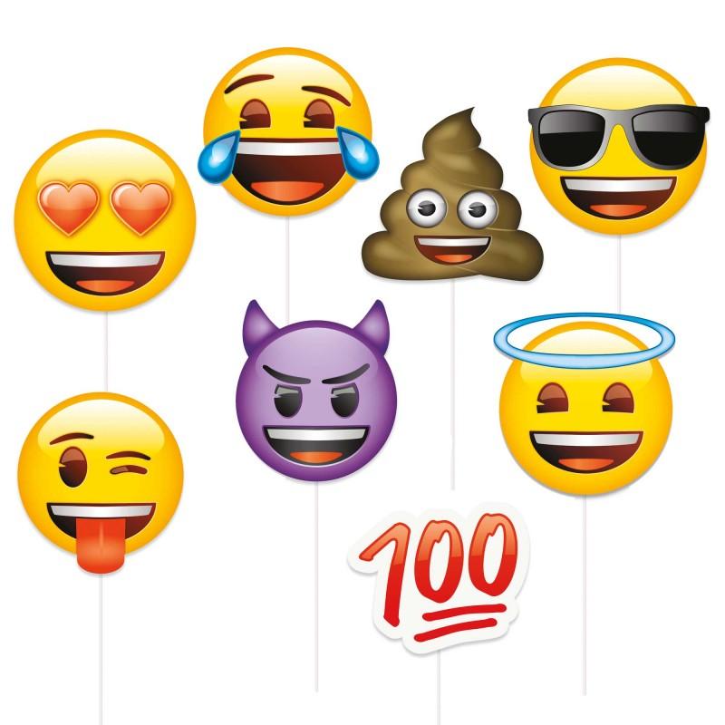 Adereços Fotografias Emojis