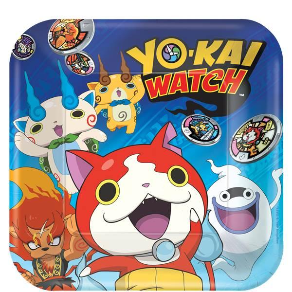 Pratos Yo-Kai Watch Grandes