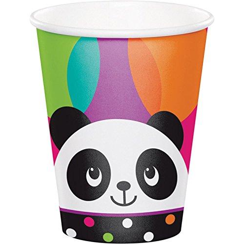Copos Panda Colorido