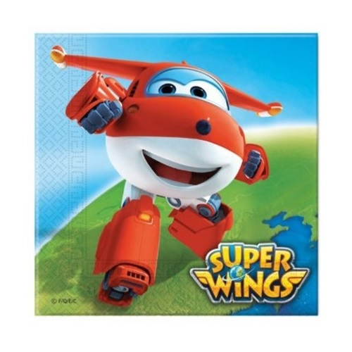 Guardanapos Super Wings