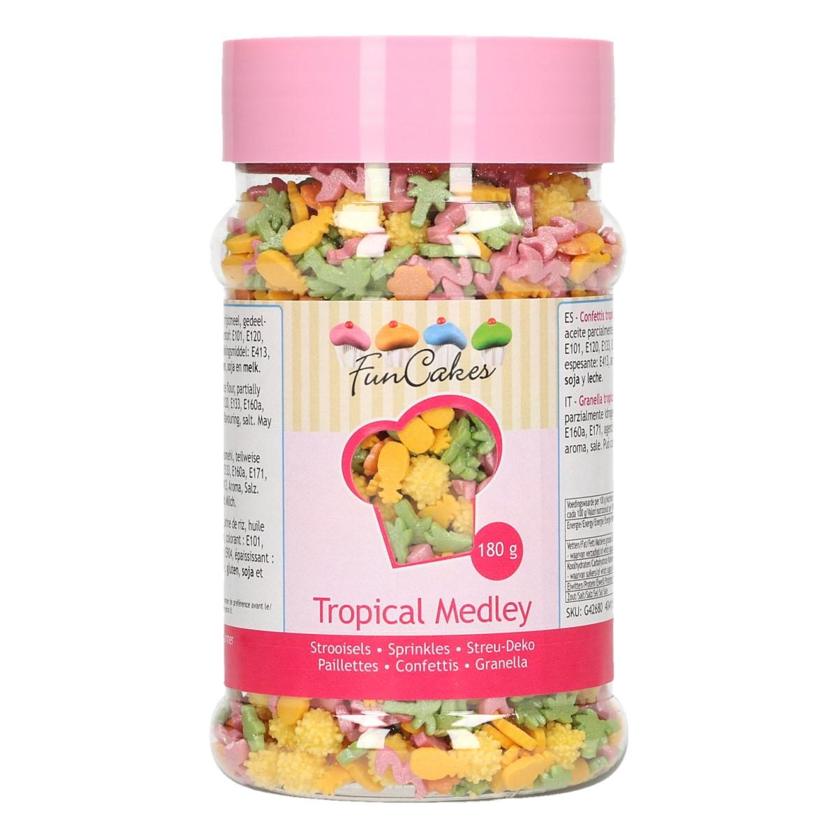 Confetis Açúcar Mistura Tropical