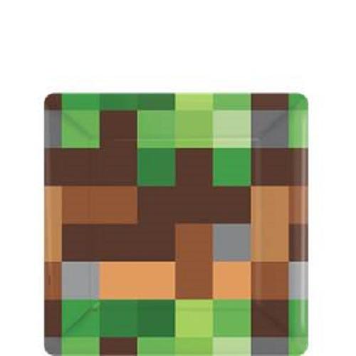 Pratos Minecraft Pequenos