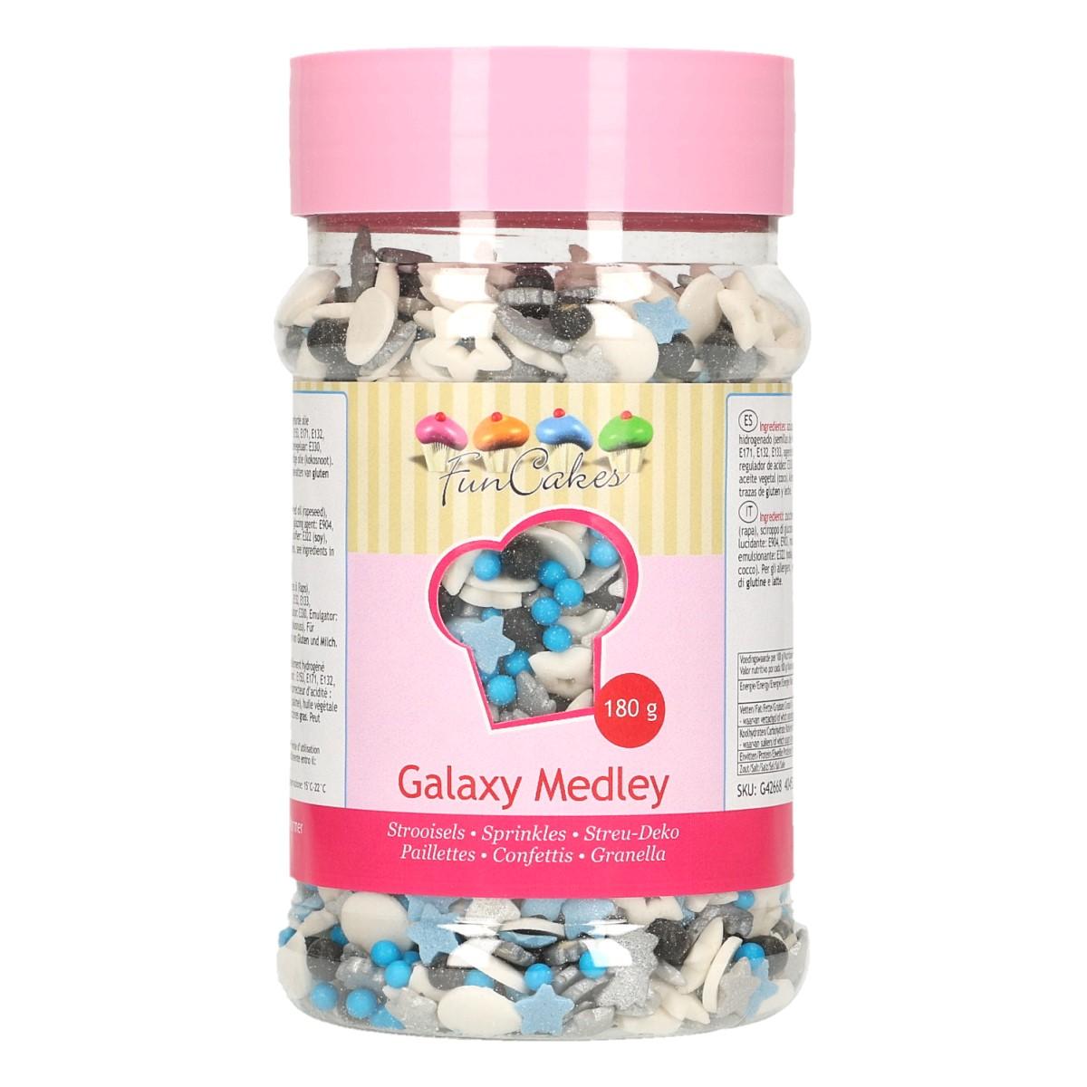 Confetis Açúcar Mistura Galáxia