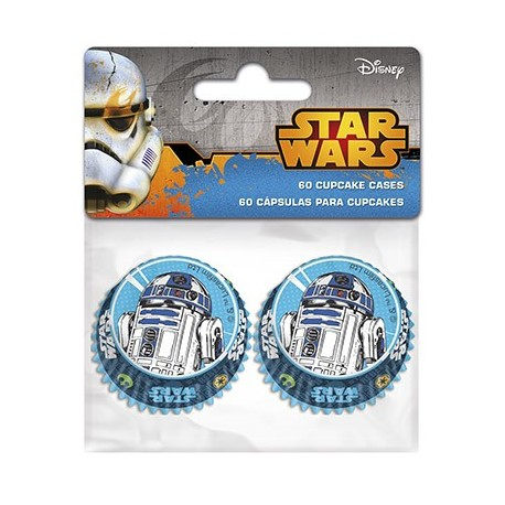 Conj. 60 Mini Formas Star Wars