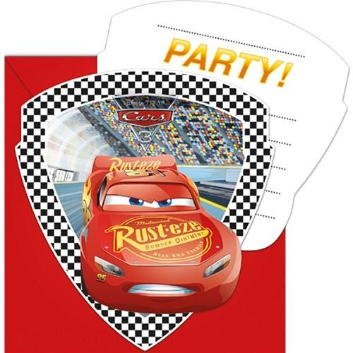 Convites Cars Faísca