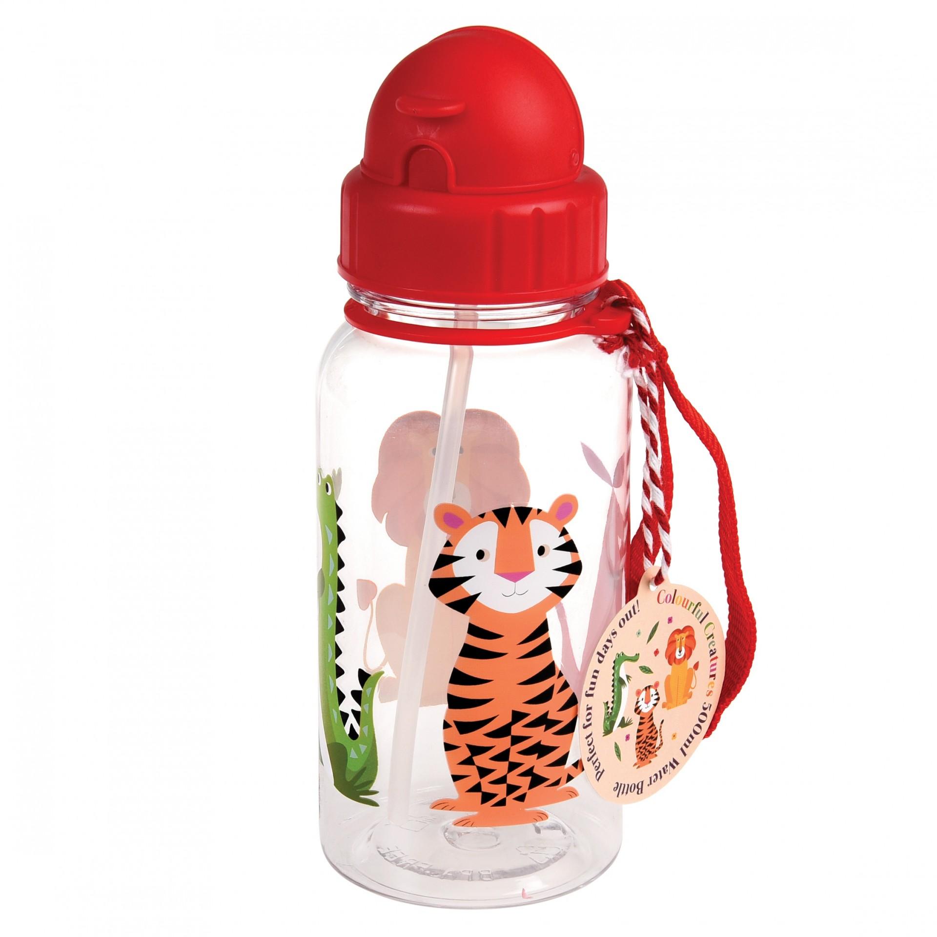 Garrafa Infantil Animais Selva
