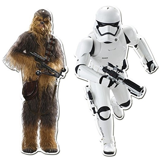 Conj. 2 Figuras Star Wars 2