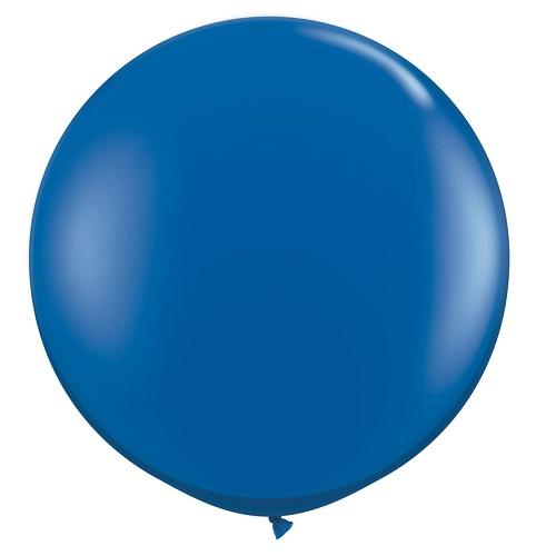 Balão Azul Escuro Gigante