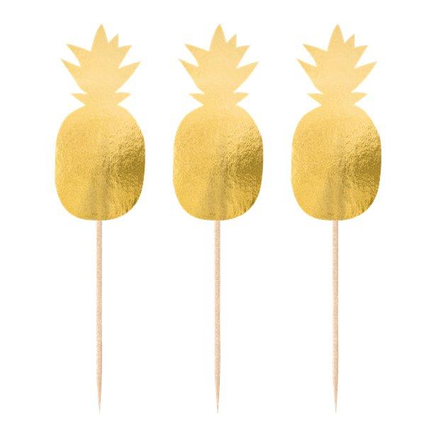 Palitos Ananás Dourados