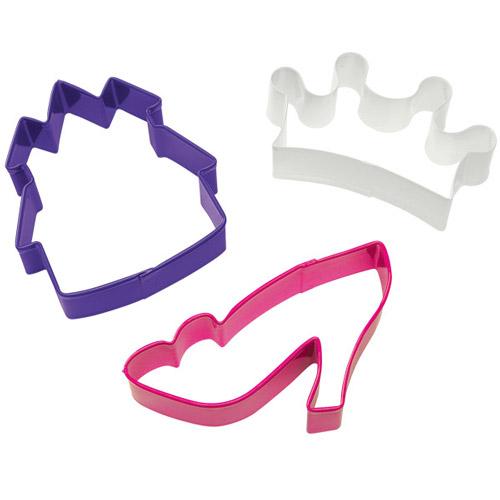 Conj. 3 Cortadores Princesas