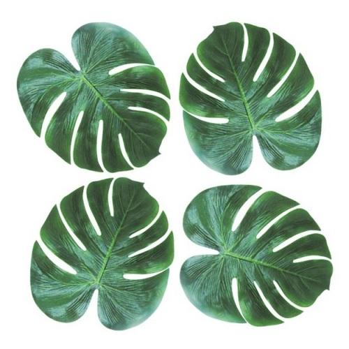 Conj. 4 Folhas Decorativas