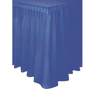 Saia de Mesa Azul Escura