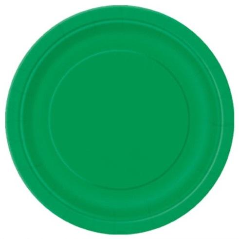 Pratos Verde Pequenos