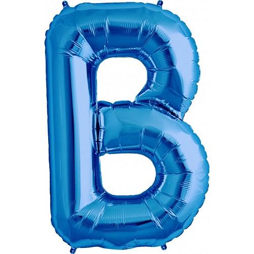 Balão B Azul
