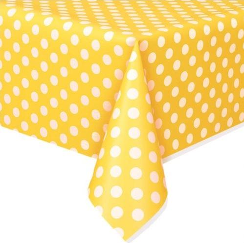 Toalha Amarelo Bolas